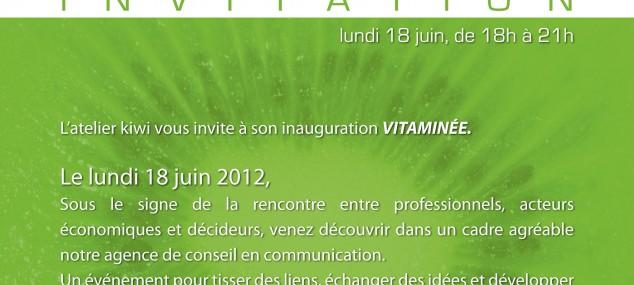 Inauguration vitaminée