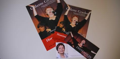 Colette GREDER – Hommage à Edith PIAF
