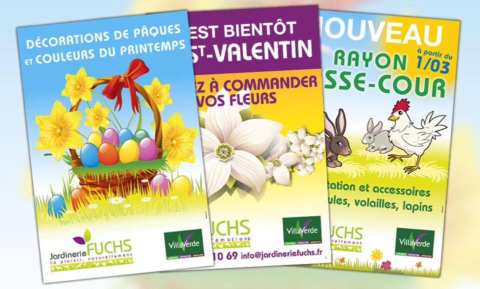 Jardinerie fuchs agence de communication et site for Jardinerie internet